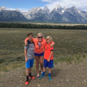 The Grand Tetons!